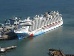 Norwegian Breakaway (andreboeni) Tags: norwegian breakaway portland port harbour dorset cruise liner