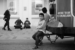 Child (K.BERKİN) Tags: antique walk way turkey tourism turkishinstrument syrianchildren musician music oldstreet oldistanbul people performer city children child centrum blackwhite beyoglu mirroless childrens