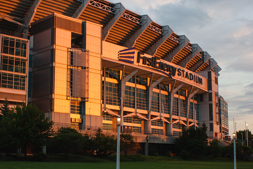 First Energy Stadium at Sunset