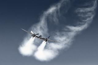 BER / N25Y / Lockheed P-38L Lightning Red Bull (The Flying Bulls)