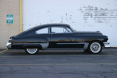1949 Black CadillacSeries 62 Model 49-6207 Club Coupe (niureitman) Tags: illinois cadillac classiccadillac black blackcadillac car automobile transportation 2door clubcoupe coupe 1949 1949cadillac
