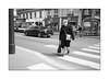 walk the line (Istvan Penzes) Tags: leicammonochromtyp246 penzes manualfocus rangefinder availablelight handheld bw black white paris france leicasummicron35mmv1 street parisienne holiday