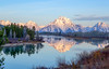 Oxbow Bend, Grand Teton National Park, Wyoming. (scepdoll) Tags: findyourpark 399 colterbay grandtetonnationalpark grizzlybears jackson jacksonlake jennylake oxbowbend stringlake tetons wyoming bearcubs bears bird frozen icefishing landscape mountains raven sunrise
