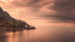 NEAR THE LAKE (Jeton Bajrami) Tags: lake léman landscape sunset longtimeexposure art perfect sony adobe nisi lightroom sky colors clouds