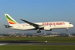 Ethiopian Airlines  Boeing 787-8 Dreamliner ET-ATJ (widebodies) Tags: brussels brüssel bru ebbr widebody widebodies plane aircraft flughafen airport flugzeug flugzeugbilder ethiopian airlines boeing 7878 dreamliner etatj