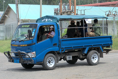 Typical Papua New Guinea PMV (Bus) (CooverInAus) Tags: number license registration motor vehicle automobile plate rabaul enbp papua new guinea east britain province public transport bus pmv