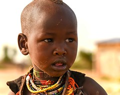 Little Hamar Girl (Rod Waddington) Tags: africa african afrique afrika äthiopien ethiopia ethiopian ethnic etiopia ethnicity ethiopie etiopian omovalley omo outdoor omoriver outdoors little girl culture cultural child village portrait people candid