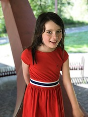Mady at Alton Baker Park (pete4ducks) Tags: eugene oregon mady madelyn 2018 altonbakerpark kid girl child dress