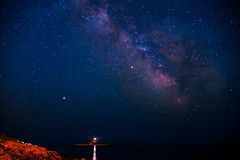 Milky Way and Other Stars (Wolfhowl) Tags: 2018 galaxy spring landscape milkyway celestial stars canon light outer adriatic astronomy hvar travel starlight starscape sky space nightscape europe croatia night