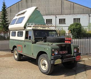 1970 Land Rover Series III Camper TTU 343H