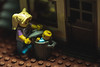 Not all mothers deserve cards. (3rd-Rate Photography) Tags: lego mothersday mother unfitmother baby garbagecan scared sad minifig minifigure canon 5dmarkiii 100mm macro jacksonville florida 3rdratephotography earlware 365