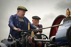 Two little boys (2) (PentlandPirate of the North) Tags: outdoorshows ashleyhall steam traction engine rally vintage people cheshire england dirty