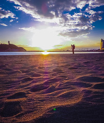 江之島黄昏 (yinlei) Tags: enoshima fujisawa shonan sunset 湘南 江之島 藤沢 夕日