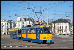 2113-2018-04-08-1-Goerdelerring (steffenhege) Tags: leipzig lvb tram tramway strasenbahn streetcar ckd t4d t4dm nb4 2113