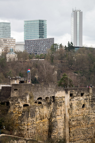 Luxembourg Casemates du Bock and Kirchberg