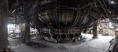 Blast Furnace (Graceful Decay) Tags: abandoned building canon decay decayed derelict deserted eos forgotten forsaken gracefuldecay hochofen industry industrial lost metal old panorama rust steel urbex vergessen verlassen