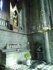 capilla altar retablo Virgen y el Niño iglesia interior Colegiata Notre Dame de Dinant Belgica (Rafael Gomez - http://micamara.es) Tags: capilla altar retablo virgen y el niño iglesia interior colegiata notre dame de dinant belgica valonia bélgica