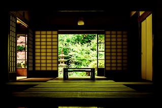 At Jochi-ji Temple in Kamakura : 北鎌倉・浄智寺