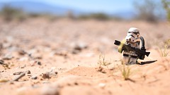 """What an insufferable planet this is."" (RagingPhotography) Tags: lego star wars sand sandy outside outdoor outdoors desert tatooine planet imperial galactic empire stormtrooper storm trooper sandtrooper sunny sun bright hot heat burning ragingphotography"