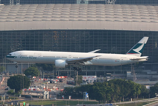 B-KQJ Boeing 777-367ER, Hong Kong