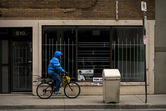 Going Fishing. Windsor, ON. (Paul Thibodeau) Tags: photooftheday windsor nikond500 50mm streetphotography wyandotte man bicycle fishing gear fisherman