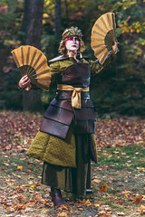 SP_55376-3 (Patcave) Tags: kyoshi warrior avatar last airbender 2016 atlanta life college cosplay cosplayer cosplayers costume costumers costumes shot comics comic book movie fantasy film canon 5d3 sigma 85mm f14 lens