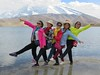 Chinese Tourists (D-Stanley) Tags: chinese tourists lake karakol pamir plateau muztaghata