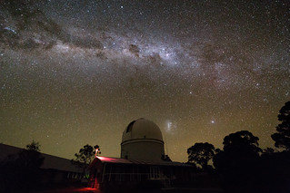 Milky Way over the AAT