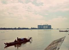 Phnom Penh (vickismith27) Tags: river longboat