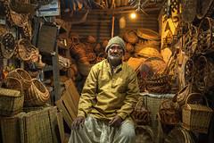 It's a Tungsten life (Logesh Photostream) Tags: d750 nikon cwc travel warm light tungsten varanasi shopkeeper