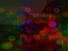 Things That Go Thump in the Night (soniaadammurray - On & Off) Tags: digitalphotography manipulated experimental collage abstract artchallenge mysteryfeelingschallengeaprilmay2018 artdreamgroupchallenge mystery