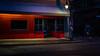 6th Ave (llabe) Tags: red night cinematic mood street tacoma washington nikon d750