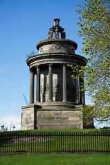 Burns Monument, Edinburgh (p.mathias) Tags: burns robertburns poet monument edinburgh scotland history historical historic scottish literature writing sunny bluesky sony a5100 unitedkingdom europe