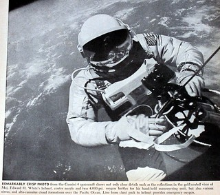 Space Walk From Gemini-4 Spacecarft Sometime During the 1960's