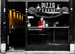 PizzaFerrari (alessandrochiolo) Tags: sicilia siciliabedda street streetphoto sicily streetphotografy streetphotography streetphotographer streetfood biancoenero bw bn blackandwhite fujifilm food fuji colori car