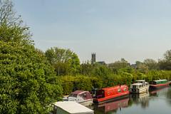 Looking towards St Mark's (shabbagaz) Tags: great britain lancaster canal united kingdom 2018 a65 alpha city england lancashire may north preston shabbagaz sony spring uk west greatbritain lancastercanal unitedkingdom
