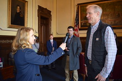 The Governor in the Governor's Office