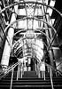 IMG_7042 (Kathi Huidobro) Tags: londonarchitecture london metalwork urbanism blackwhite bw monochrome entrance stairs steel richardrogers contemporary architecture lloyd'sbuilding