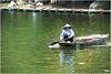 Là dove vivono le fate ... (Augusta Onida) Tags: trangan vietnam asia canoa donna woman fiume river acqua water leicam ninhbihn