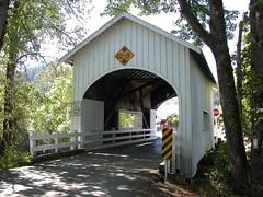 Neal Lane Covered Bridge-DSCN3983 (cherrytree54) Tags: bridge coveredbridge myrtlecreek oregon neallane