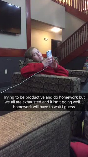 Video - trying to be productive