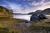 L'automne au cap Trinité (gaudreaultnormand) Tags: automne canada fjord jaune leverdesoleil parcnationaldusaguenay quebec rivière roche saguenay pierre eau montagne paysage arbre baie forêt ciel