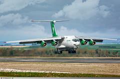 Ilyushin IL-76 TD Turkmenistan Airlines EZ-F427 (Clément W. - Jet 4U Aviation Photography) Tags: ilyushin il76 td turkmenistan airlines ezf427 lfok xcr