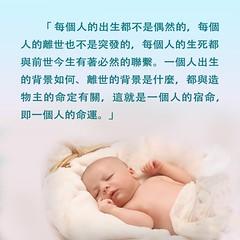 人的命運-金句卡片 (跟隨耶穌腳蹤網) Tags: 金句卡片 嬰兒