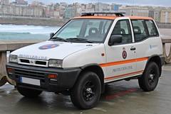 Protección Civil A Coruña (emergenciases) Tags: emergencias españa 112 vehículo acoruña galicia pc proteccióncivil nissan