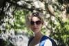 Swirly Bokeh (Erik de Klerck) Tags: helios 442 58mm ussr swirl swirly bokeh swirleybokeh background hightlights portrait portret woman glasses sunglasses trees outdoor manualfocus