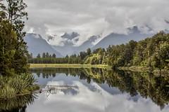 Matheson Lake [New Zealand] [Explore n°29 du 05/04/2018] (Vins 64) Tags: explore nz newzealand nouvellezelande lake reflet reflection