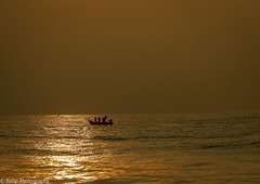 Marina Beach (Balaji Photography - 4.8M views and Growing) Tags: marinabeach marina beach boats fishermen sea bayofbengal sunrise dawn sunlight reflection chennaireflections chennai chennaibirds beachesofindia beachphoto canon canon70d