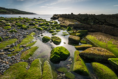 Green Stainless (J13Bez) Tags: 1020mm costa d7200 estrecho km90 mar rocas green verde rocks sea coast agua reflejos transparente lowtide marea