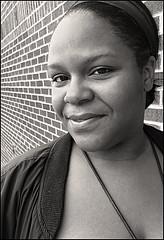 (Cliff Michaels) Tags: iphone8 photoshop pse9 portrait woman headshot face bw sepia